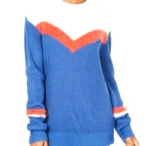Freshman red blue and white sweater